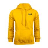 Gold Fleece Hood-Griffs Wordmark