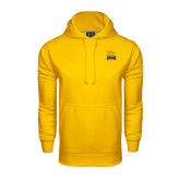 Under Armour Gold Performance Sweats Team Hoodie-Canisius w/ Griff Stacked