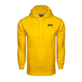 Under Armour Gold Performance Sweats Team Hoodie-Griffs Wordmark