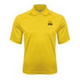 Gold Textured Saddle Shoulder Polo-Canisius w/ Griff Stacked