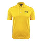 Gold Dry Mesh Polo-Griffs Wordmark