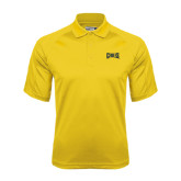 Gold Dri Mesh Pro Polo-Griffs Wordmark