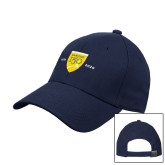 College Navy Heavyweight Twill Pro Style Hat-Sesqui Crest Dates