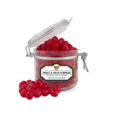 College Sweet & Sour Cherry Surprise Small Round Canister-Official Griffs