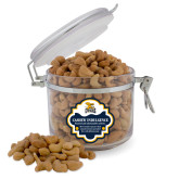 Cashew Indulgence Round Canister-Canisius w/ Griff Stacked