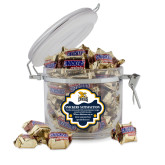Snickers Satisfaction Round Canister-Canisius w/ Griff Stacked