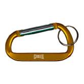 Orange Carabiner with Split Ring-Griffs Wordmark Engrave