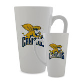 Full Color Latte Mug 17oz-Canisius w/ Griff Stacked