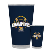 Full Color Glass 17oz-2017 MAAC Champions Baseball