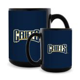 Full Color Black Mug 15oz-Griffs Wordmark