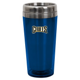 Solano Acrylic Blue Tumbler 16oz-Griffs Wordmark