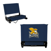 Stadium Chair Navy-Canisius w/ Griff Stacked