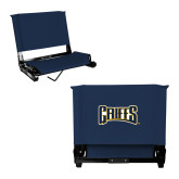 Stadium Chair Navy-Griffs Wordmark