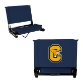 Stadium Chair Navy-Capital C Griffs