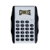 White Flip Cover Calculator-Griffs Wordmark