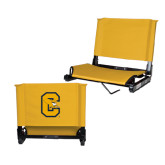 Stadium Chair Gold-Capital C Griffs