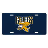 College License Plate-Griffs w/ Griff Stacked