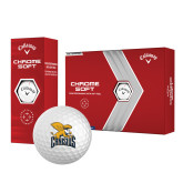 Callaway Chrome Soft Golf Balls 12/pkg-Canisius w/ Griff Stacked