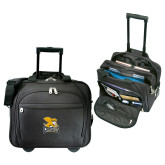 Embassy Plus Rolling Black Compu Brief-Canisius w/ Griff Stacked