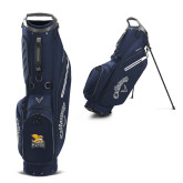 Callaway Hyper Lite 4 Navy Stand Bag-Canisius w/ Griff Stacked