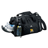 High Sierra Black Switch Blade Duffel-Canisius w/ Griff Stacked