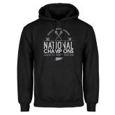 Black Fleece Hoodie-2019 National Mens Lacrosse Champions