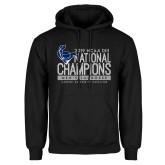 Black Fleece Hoodie-2019 Mens Lacrosse NCAA DIII Champions