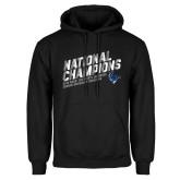Black Fleece Hoodie-2019 NCAA DIII Mens Lacrosse Champions
