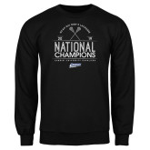 Black Fleece Crew-2019 National Mens Lacrosse Champions