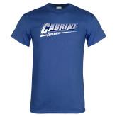 Royal T Shirt-Cabrini Softball