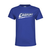 Youth Royal T Shirt-Cabrini Soccer