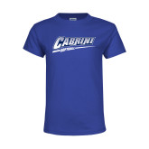Youth Royal T Shirt-Cabrini Softball