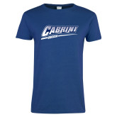 Ladies Royal T Shirt-Cabrini Soccer