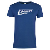 Ladies Royal T Shirt-Cabrini Softball