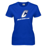 Ladies Royal T Shirt-Roller Hockey Club