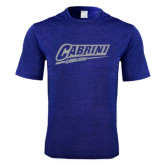 Performance Royal Heather Contender Tee-Primary Logo
