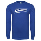 Royal Long Sleeve T Shirt-Cabrini Soccer