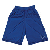 Russell Performance Royal 10 Inch Short w/Pockets-Mascot Head