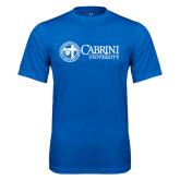 Performance Royal Tee-Cabrini University Mark