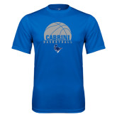 Performance Royal Tee-Basketball on Top