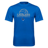 Performance Royal Tee-Volleyball on Top