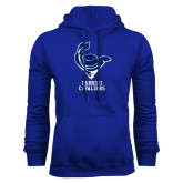 Royal Fleece Hoodie-Mascot Cabrini Cavaliers