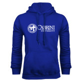 Royal Fleece Hoodie-Cabrini University Mark