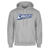 Grey Fleece Hoodie-Cabrini Softball