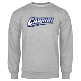 Grey Fleece Crew-Cabrini Soccer