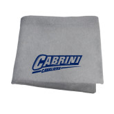 Grey Sweatshirt Blanket-Primary Logo