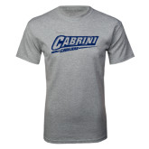 Grey T Shirt-Primary Logo Distressed