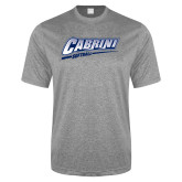 Performance Grey Heather Contender Tee-Cabrini Softball