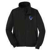 Black Charger Jacket-Mascot Head