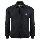 Black Players Jacket-Mascot Head